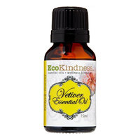 Ecokindness Llc Ecokindness Essential Oil, Vetiver, .5 Oz
