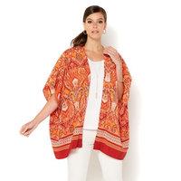 IMAN Global Chic Luxury Resort Paisley Kimono 550-090