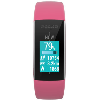Polar A360 Activity Tracker And Fitness Watch Pink Size Medium