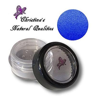 Christina's Natural Qualities All Natural Mineral Powder Pearl Bright Blue Eye Color (Eyeshadow) - Midnight Dreams Blue
