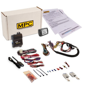 Mpc Complete Remote Start Kit with Keyless Entry For 2010-2017 Chevrolet Equinox -Plug & Play - (2) 5 Button Remotes