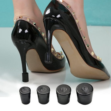 TOVOT 8pcs High Heel Protectors and High Heel Protectors(Large/Medium/Small/X-Small)