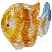 Creative Bath RBF56MULT Rainbow Fish Resin Soap Dish, Multi-Color