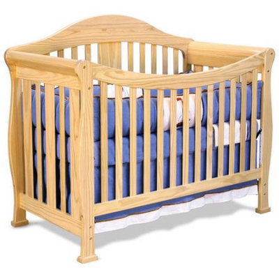 Baby Mod - Park 4-in-1 Convertible Crib, Natural
