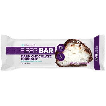 JJ Virgin - Dark Chocolate Coconut Fiber Bars (Box of 12)