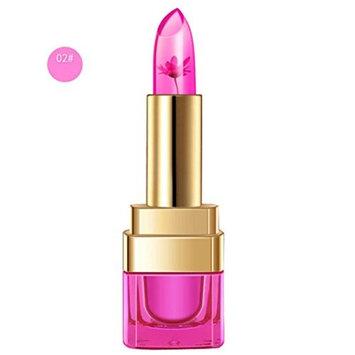 Creazy Magic Jelly Flower Lipstick Color Temperature Change Moisturizer Bright Lip Balm