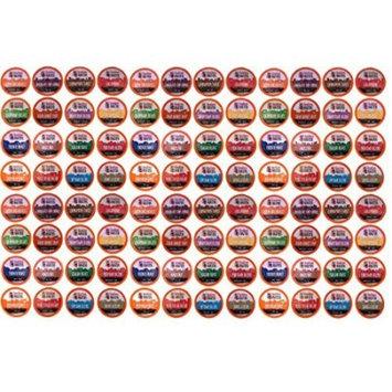 96 Count K-Cup Variety Pack 16 Distinct Beantown Roasters Coffees for Keurig
