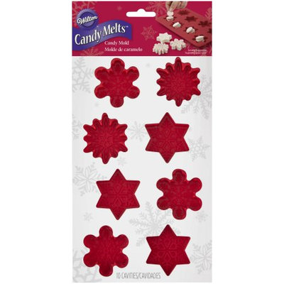 Wilton Snowflake Silicone Candy Mold