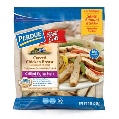Perdue Short Cutes, Fajita Style Chicken Breast, 9 Oz