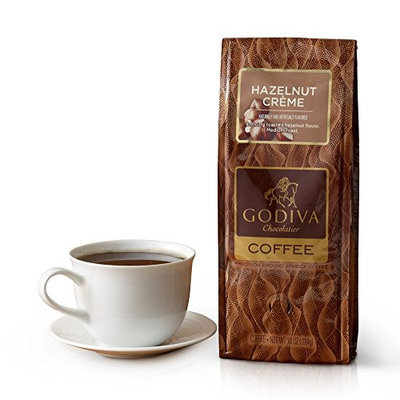 Godiva Chocolatier Chocolate Hazelnut Creme Flavored Coffee, Easter Basket Stuffers [Chocolate Hazelnut]