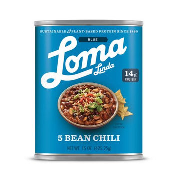 Atlantic Natural Foods Loma Blue ® Five Bean Chili (15 oz.)(Pack of 12)