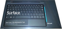 Microsoft Corp. Type Cover Keyboard Canadian French Layout for Microsoft Surface Windows RT, RT 2, Pro, Pro 2-Black