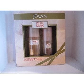 JOVAN White Musk for Women 2 Piece Cologne Spray Gift Set
