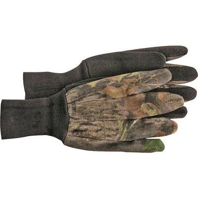 Boss Mfg 4203MOL Gloves, Jersey, Plastic Dot, Large