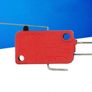 Bluelans 10Pcs AC 250V Micro Limit Switch Long Straight Hinge Lever Arm SPDT Snap Action