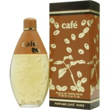 Cafe By Cofinluxe For Women. Parfum De Toilette Spray 3 Ounces