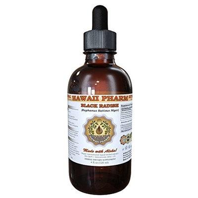 Black Radish Liquid Extract, Black Radish (Raphanus Sativus Niger) Dried Root Tincture Supplement 2x2 oz
