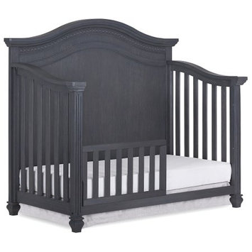 Dream On Me Evolur Toddler Rail, Weathered grey