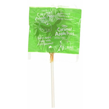 Tootsie Caramel Apple Pops Green Apple, Caramel Lollipop [number_of_pieces: number_of_pieces-8]