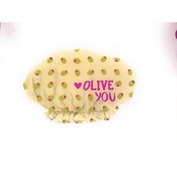 Shower Cap Oversized Waterproof Olive you