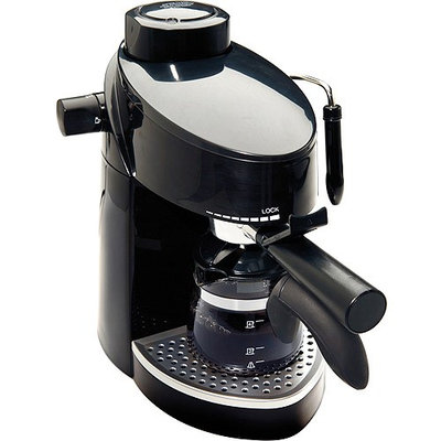 Continental Electric 4-cup Espresso Maker