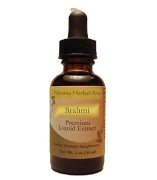 Niyama Herbal Arts Brahmi (Bacopa monnieri) Liquid Extract (1 ounce)