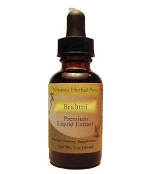 Niyama Herbal Arts Brahmi (Bacopa monnieri) Liquid Extract (1 ounce)