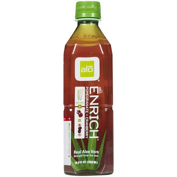 Alo Aloe Vera Pomegranate Cranberry Drink, 16.9 oz, 12 ct