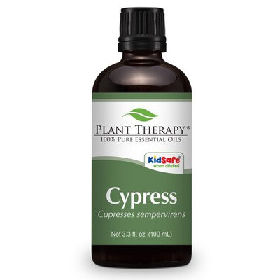 Cypress Essential Oil. 100 ml (3.3 oz). 100% Pure, Undiluted, Therapeutic Grade.