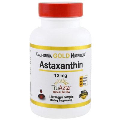 California Gold Nutrition, Astaxanthin, Naturally Occurring Antioxidant Carotenoid, 12 mg, 120 Veggie Softgels [Package Quantity : 120 Veggie Softgels]