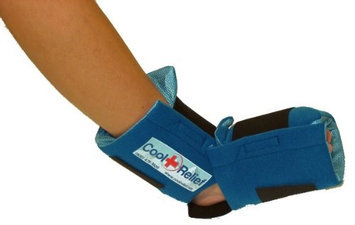 Cool Relief CRSF-2 Sofr Gel Foot Ice Wrap by Cool Relief -2 Sets of Inserts