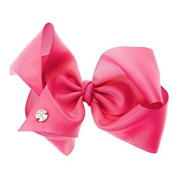 JoJo Siwa Large Cheer Hair Bow (Pink #1)
