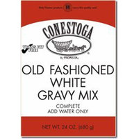 Conestoga Old Fashioned White Gravy Mix 24 Oz Oz (6 Pack)