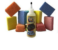 Ezr Instant Baker's Pan Cleaner with 10 Scrubbing Sponges