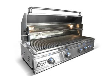 Rcs Gas Grills Pro Series Stainless Steel 42 Cutlass Grill with Blue LED - LP