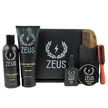 ZEUS Premium Mens Grooming Set- Sandalwood [Sandalwood]