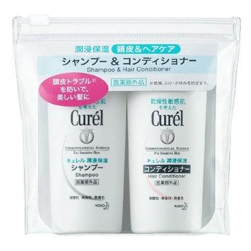 Curel JAPAN Kao Curel | Hair Care | Shampoo 45ml, Conditioner 45ml