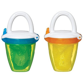Munchkin Deluxe Fresh Food Feeder, Yellow, 2 Count