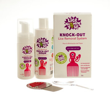 Knock-Out Lice Removal System Lice Knowing You 1 Kit