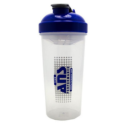 ANS Performance Blender Bottle, 20 oz, Blue