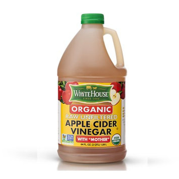 National Fruit Product Co WhiteHouse Organic Apple Cider Vinegar with Mother 64oz