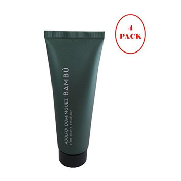 Bambu By Adolfo Dominguez After Shave Balm 100ml. Pack of 4