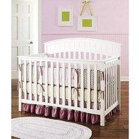 Graco - Charleston 4-in-1 Convertible Classic Crib, White