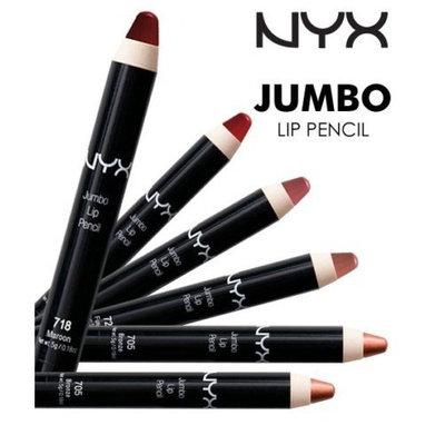(PACK OF 6) NYX COSMETICS JUMBO LIP PENCIL - #726 ICE : Beauty