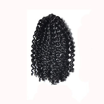 Binmer(TM) Gradient Color Twist Crochet Braids Wigs Extensions Synthetic Hair