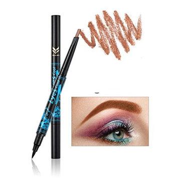 Binmer(TM) Huamianli Eye liner black Eyeliner quick drying waterproof make up eyeliner pen
