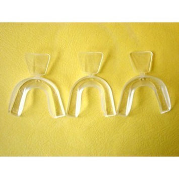D.I.Y(Do It Yourself) Moldable Thermofitting Teeth Whitening Trays- 3 trays