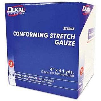DUKAL Stretch Gauze, Conforming Roll, 4