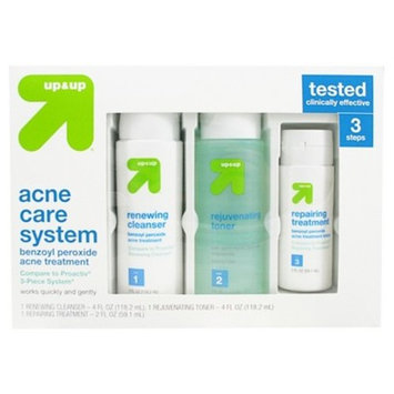 Acne Care System 10oz - Up&Up™ (Compare to Proactiv 3pc System)