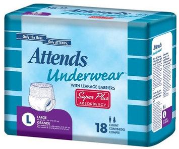 Attends Adult Incontinence Underwear Underwear Super Plus, Large 44